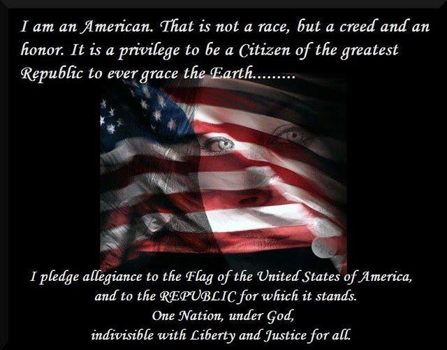 I Am An American!! We the People will fight to keep our Freedom!!