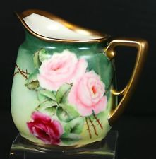 $39 Antique Beautiful  Creamer  Hand painted
