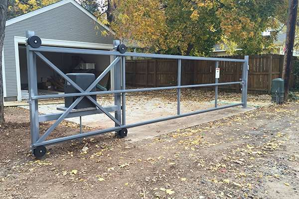 grey gate A Straight Up Fence Company Denver | Fencing