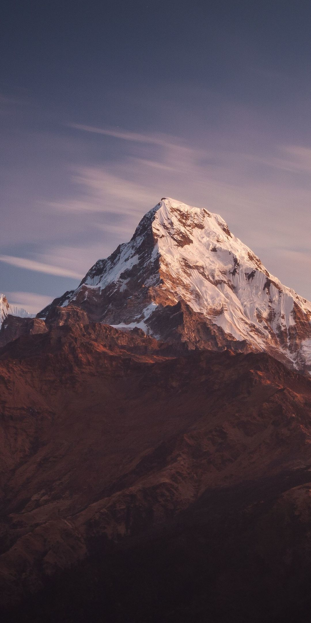 1080x2160 Nepal Mountains Adorable Peaks Wallpaper In 2020 With