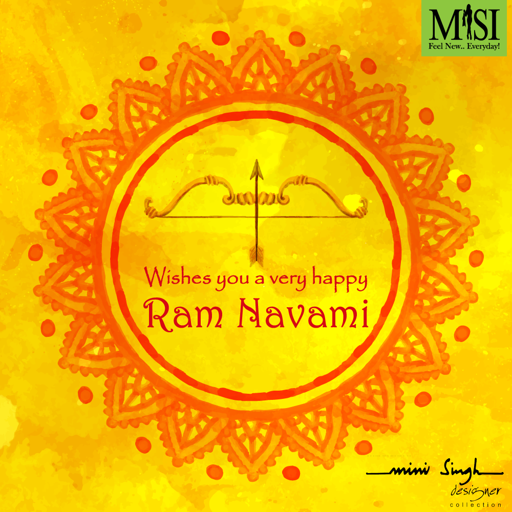 Celebrate Ramnavami with us 😀#misi #minisingh #festivals #ramnavami #classy #staytuned #delhi #designercollection #wishes
