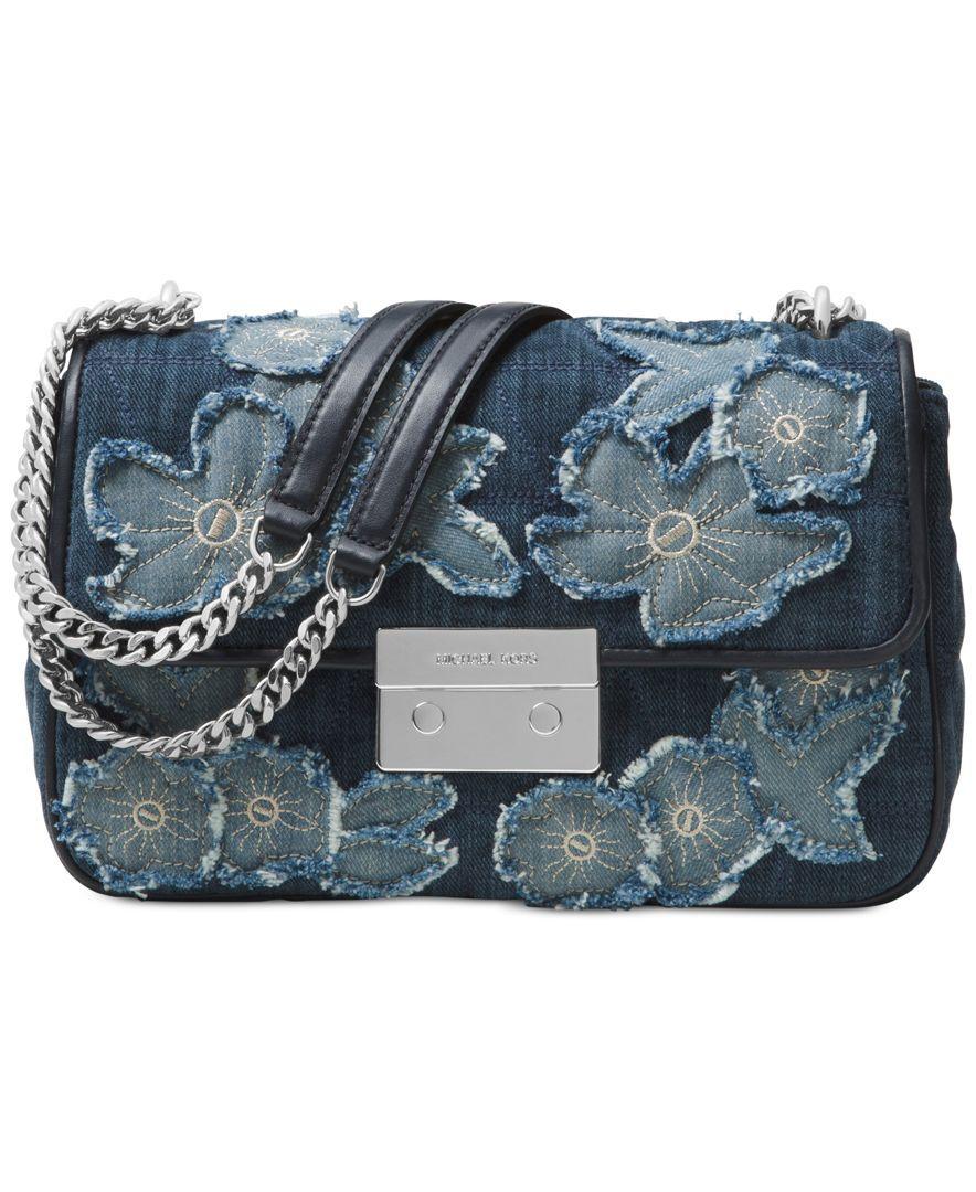 87b882298507 Michael Michael Kors Sloan Large Chain Shoulder Bag   Products ...