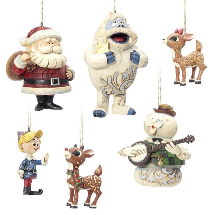 Igift Jim Shore Rudolph Friends Christmas Ornaments