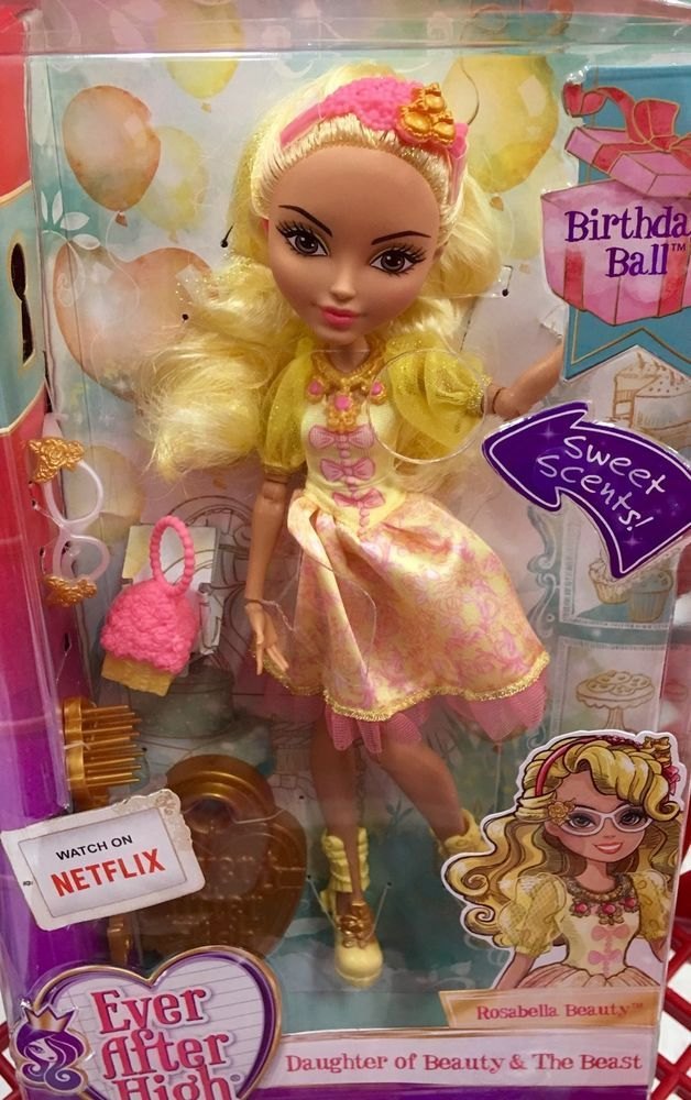 EVER AFTER HIGH DOLL ROSABELLA BEAUTY Mint Condition