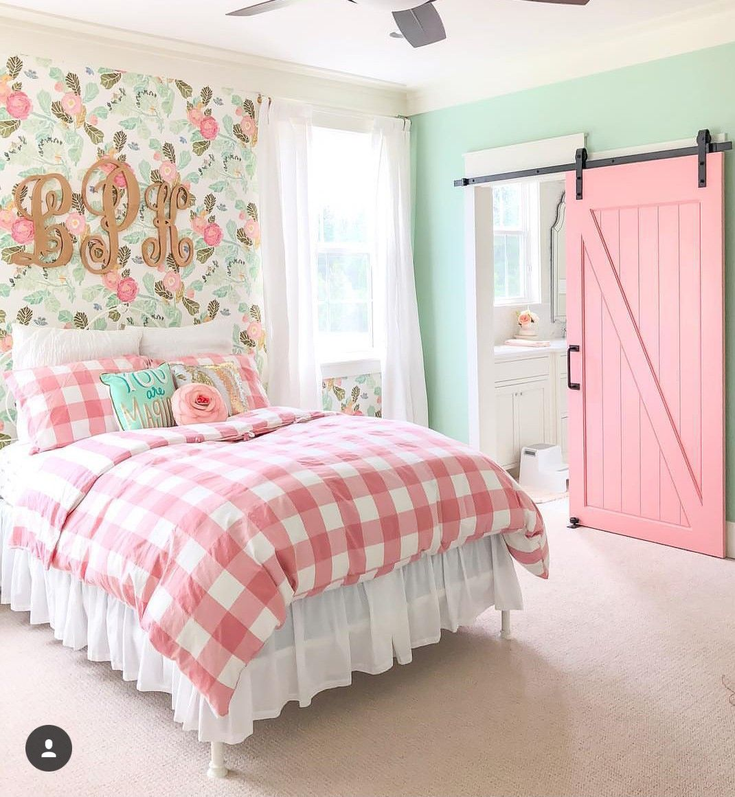 Pink And Robins Egg Blue Tween Girl Bedroom Big Girl Bedrooms Little Girl Rooms