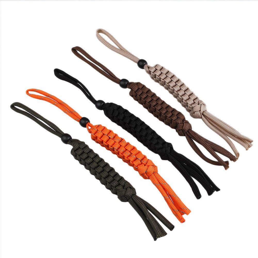 Nylon Rope Paracord Chain Corn Knot Ornament Knife Keychain ...