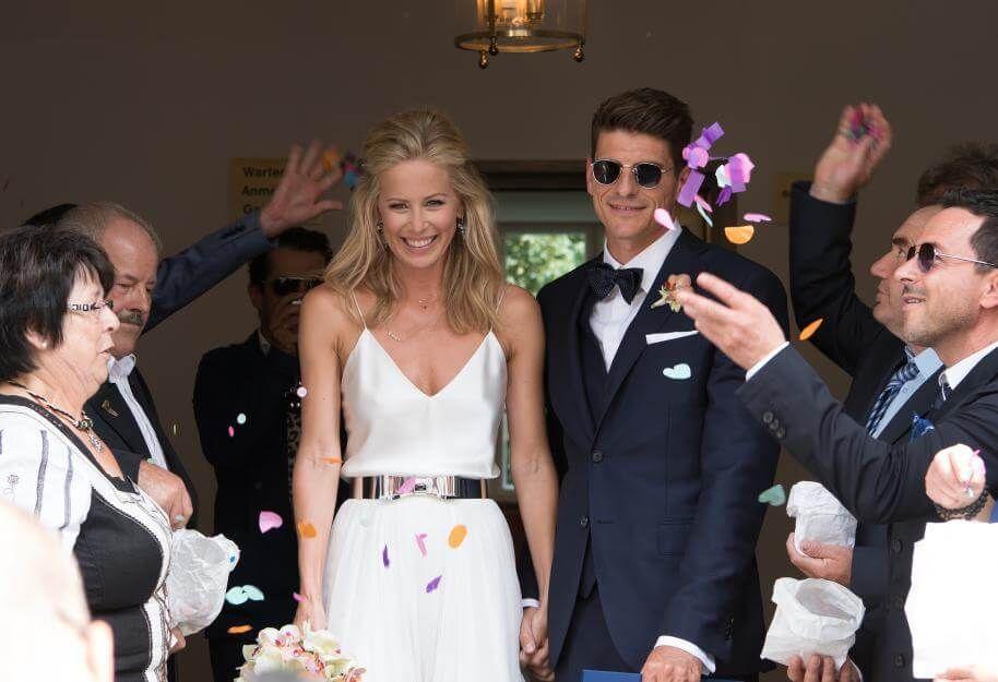 Die Schonsten Brautkleider Der Stars Braut Brautkleid Schone Brautkleider