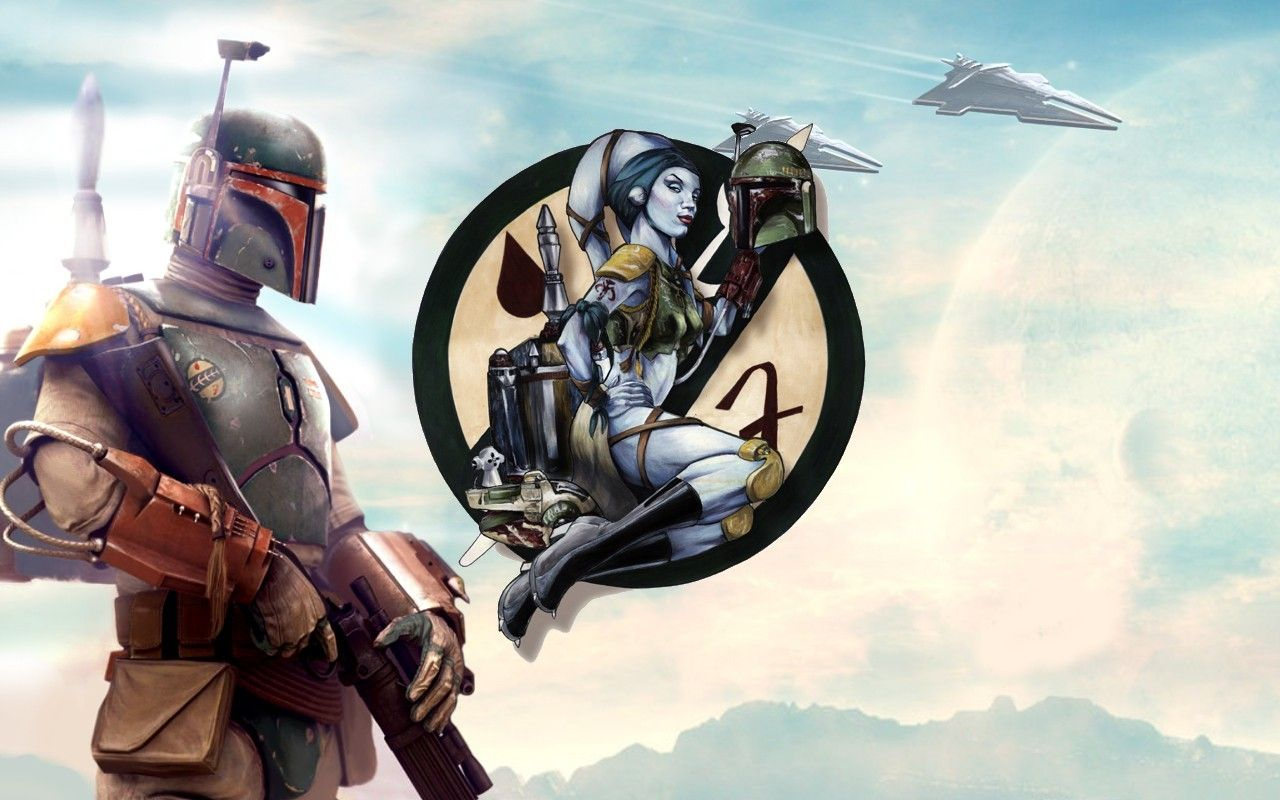 My Free Wallpapers Star Wars Wallpaper Boba Fett By Christian