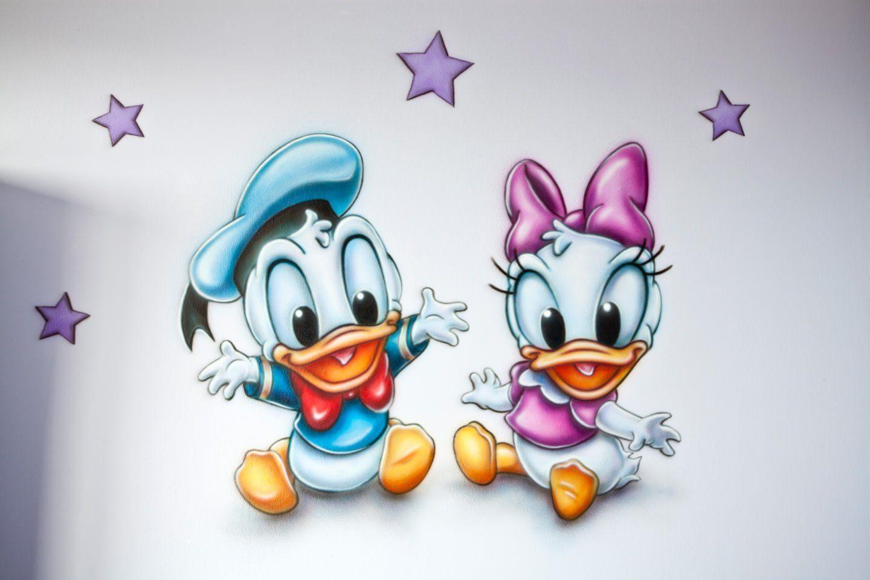 Disney Baby S Muurschildering Kinderkamer Muurschilderingen Tattoo Disney Figuren Disney Zeichnungen Cartoon Figuren