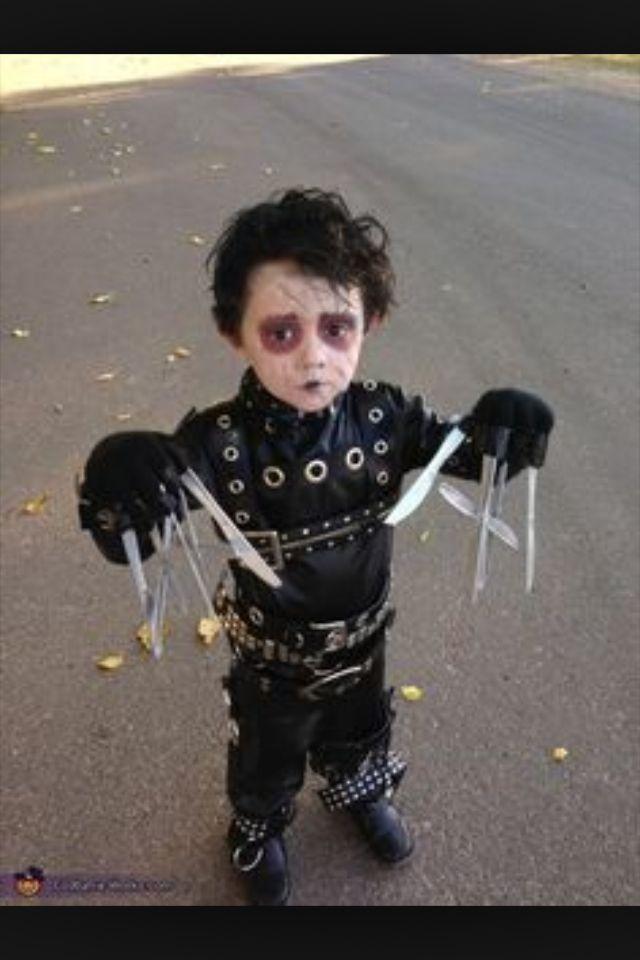 Kids Edward scissor hands costume Halloween Pinterest Edward - kid halloween costume ideas