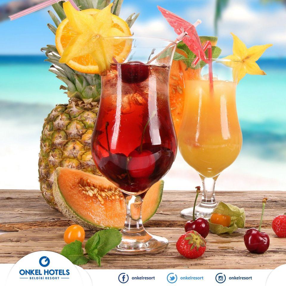 Guzel Bir Yazin En Iyi Dostu Icimizi Serinleten Kokteylerdir Buyurmaz Miydiniz Tatil Fruity Cocktails Summer Drinks Summer Juice
