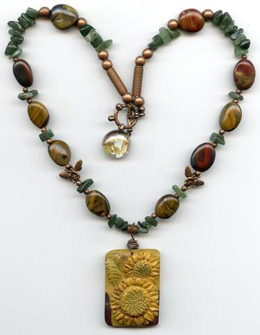 Gobnait Sunflower Necklace