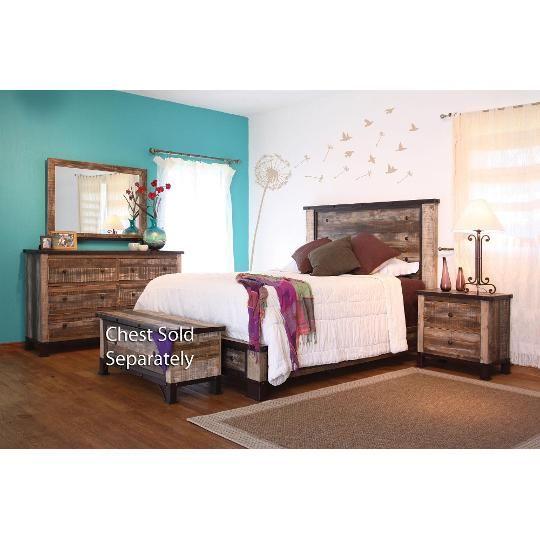World Concepts 6-Piece Queen Bedroom Set Dream Home Pinterest