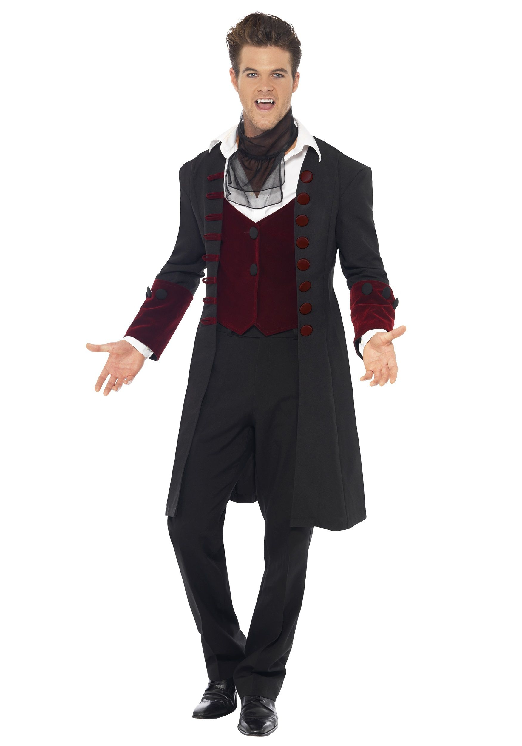 56104d5b9387 Love the shape of the shoulders Mens Fancy Dress Ideas, Mens Vampire Costume,  Male