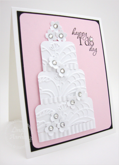 MY ROYAL WEDDING CAKE... - Stampin' Up! Demonstrator - Linda Aarhus - Simple to Sublime!