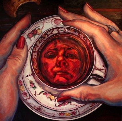 Fortune-teller * Reading tea leaves * Tasseography