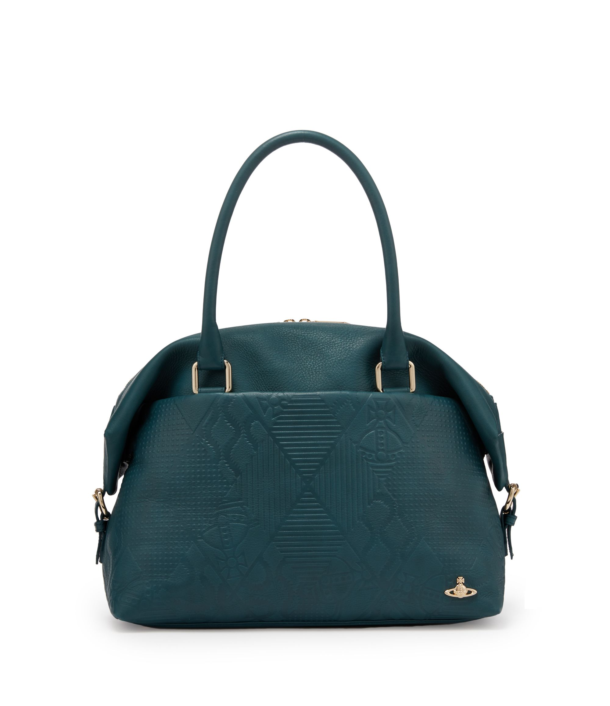 6b6637f55a71 VIVIENNE WESTWOOD Green Hogarth Bag 131008.  viviennewestwood  bags   leather