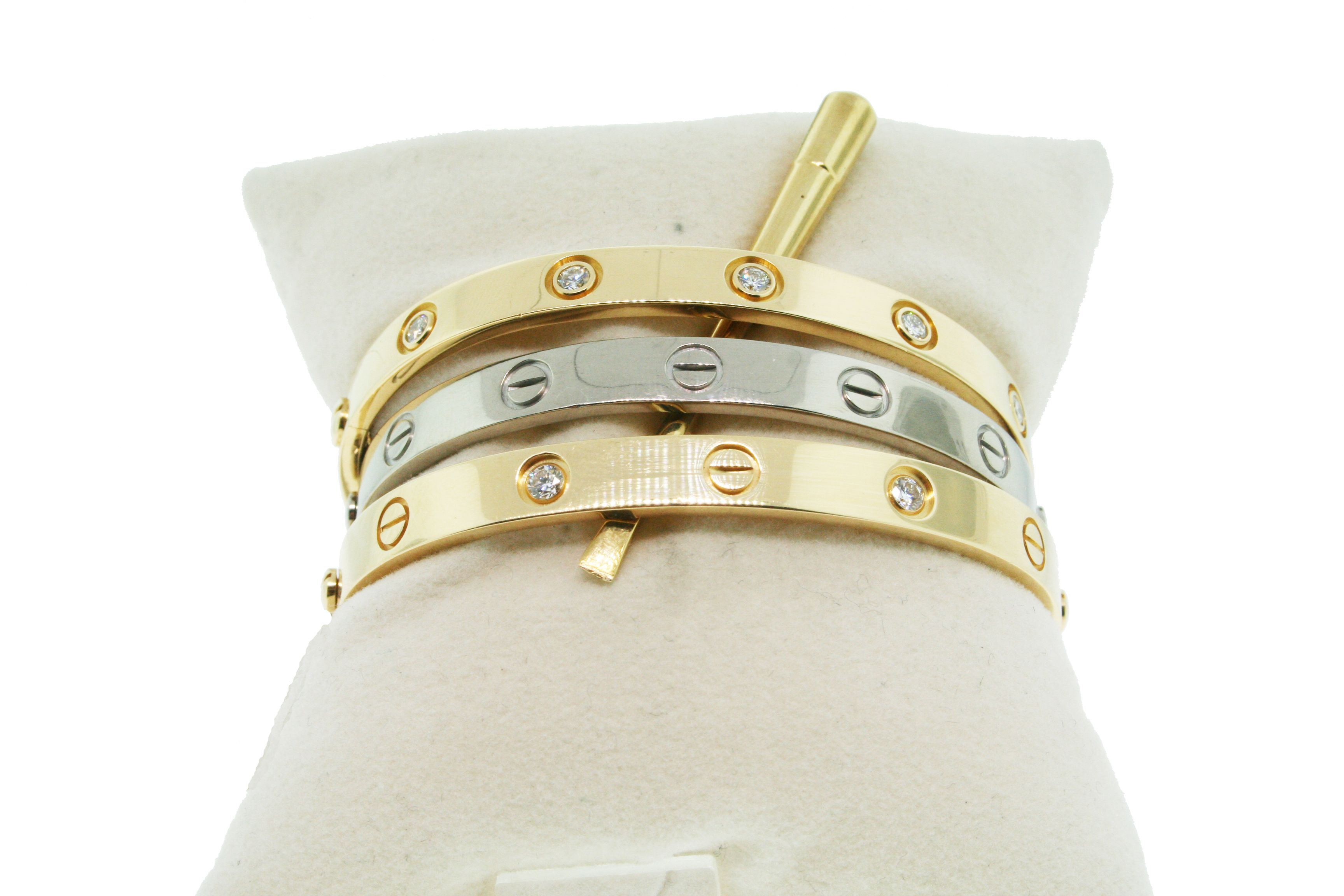 bracelet for bangles hypoallergenic bangle language of products love free nickel hayluv engraved women gold collection