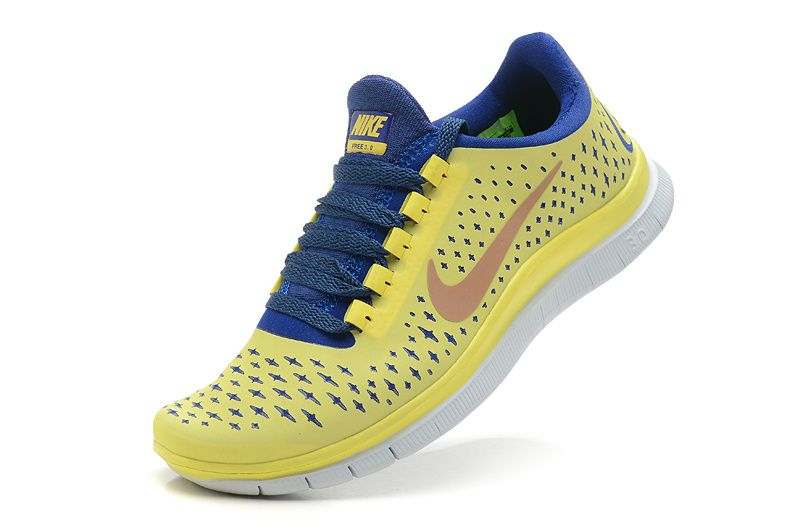 Nike For Women Shoes For Running Lemon Yellow Blue