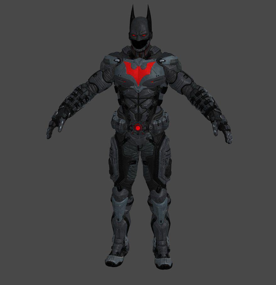 XNALARA - BATMAN ARKHAM KNIGHT - BATMAN BEYOND by CapLagRobin on DeviantArt