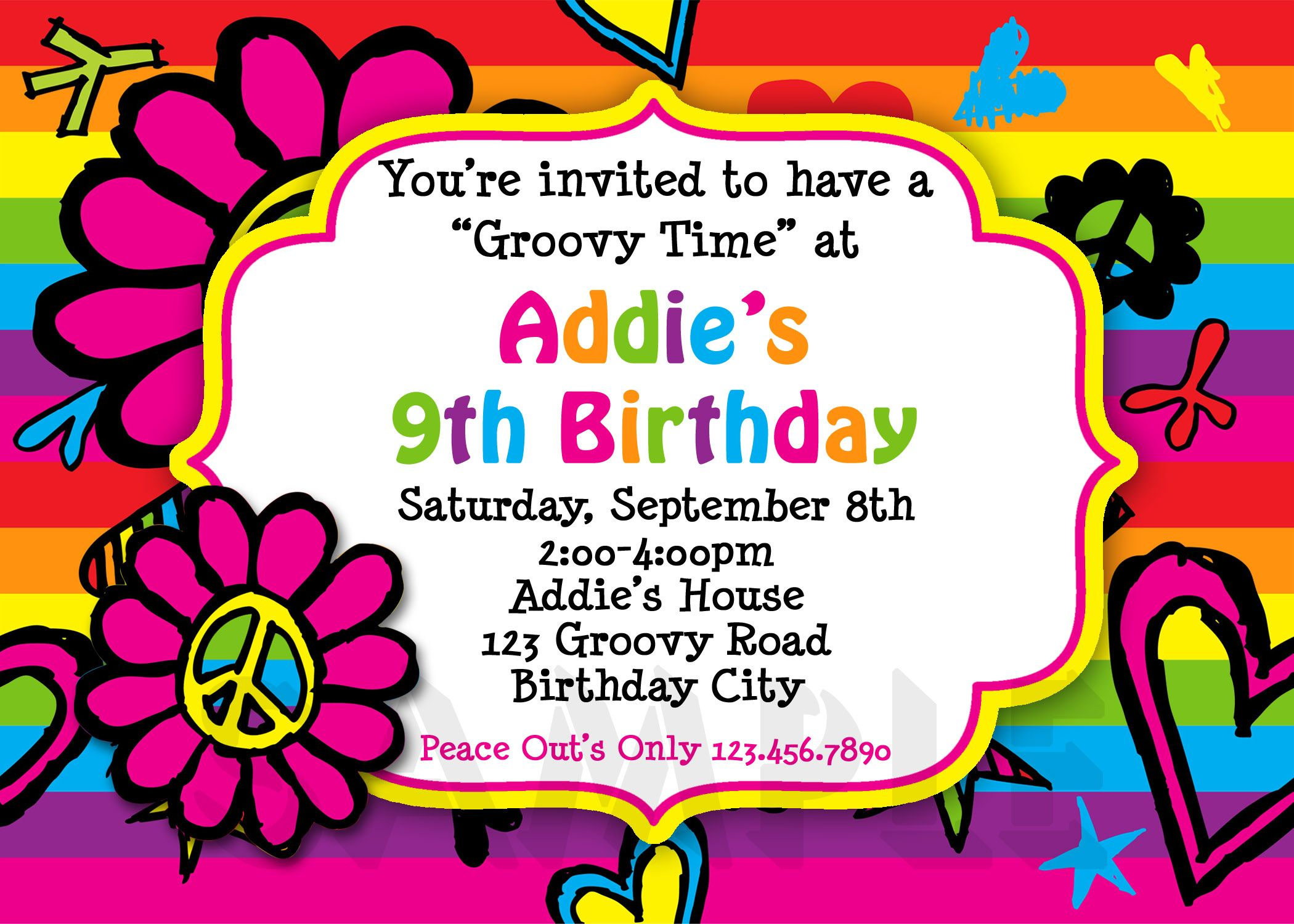 free 10 year old birthday invitations birthday in 2018 pinterest