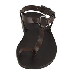 9afa98fab Gucci Cocoa Leather Toe Ring Sandals