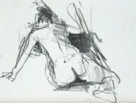 Jane Lewis Art life drawings