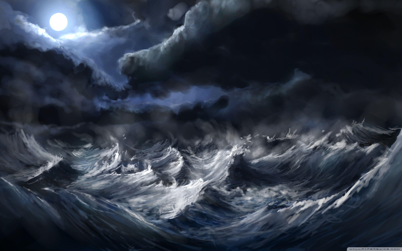 Stormy Sea Desktop Image Hd Desktop Wallpaper Instagram Photo