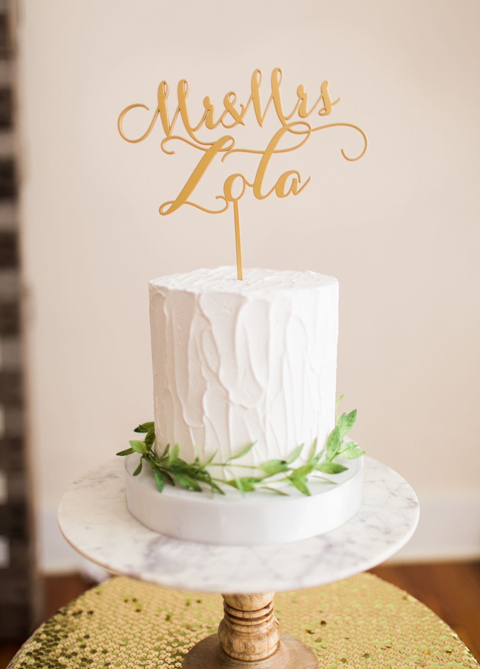 Personalized wedding cake topper handmade wedding wedding cake