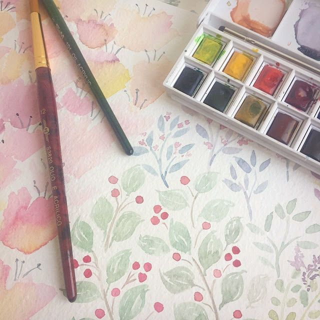 Watercolors Watercolor Painting Watercolor Tutroials