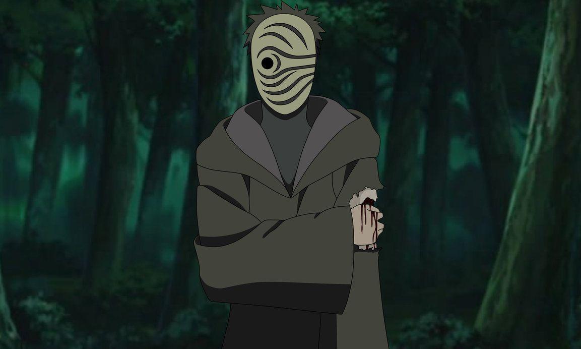 Masked Man By Https Obito Uchiha13 Deviantart Com On Deviantart Obito Mask Tobi Mask Masked Man