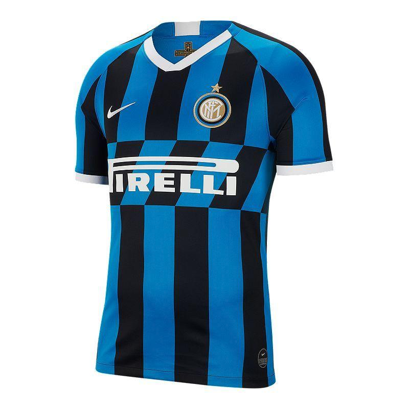 Inter Milan 2019 20 Nike Stadium Home Jersey Inter Milan Soccer Jersey Nike Men