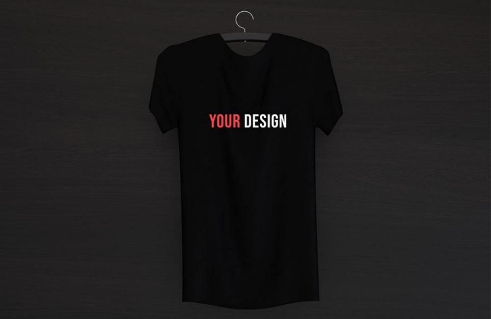 Download Free Black T Shirt Mockup Designrepos Tshirt Mockup Shirt Mockup Shirts