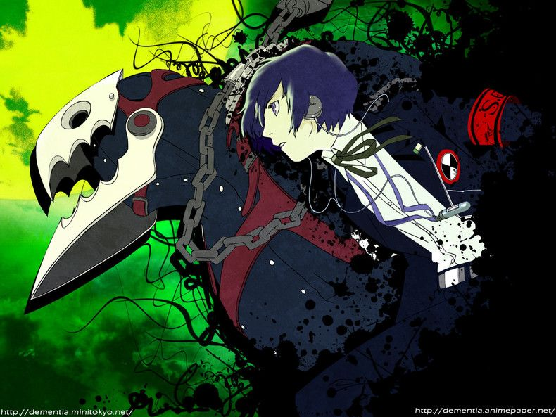 Main Character Thanatos Persona 3 Wallpapers Theanimegallery Com Persona 2d Game Art Shin Megami Tensei Persona