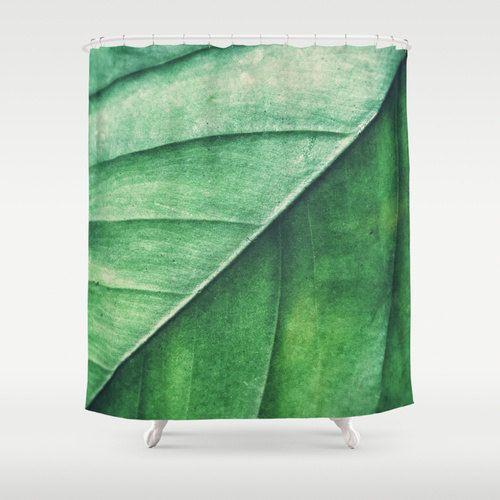 d cor de maison de style loft appartement bungalow rideau vert meraude de douche rideau. Black Bedroom Furniture Sets. Home Design Ideas