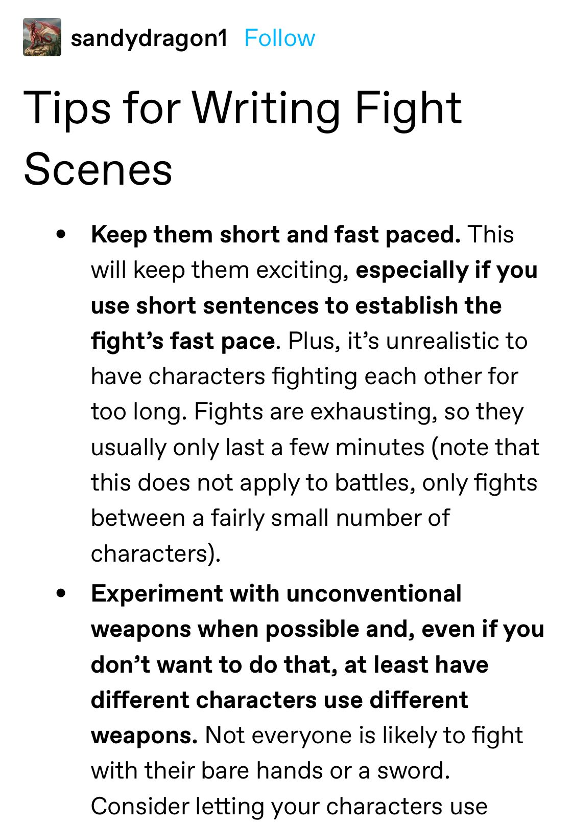 Tips for Writing Fight Scenes  Writing tips, Book writing tips