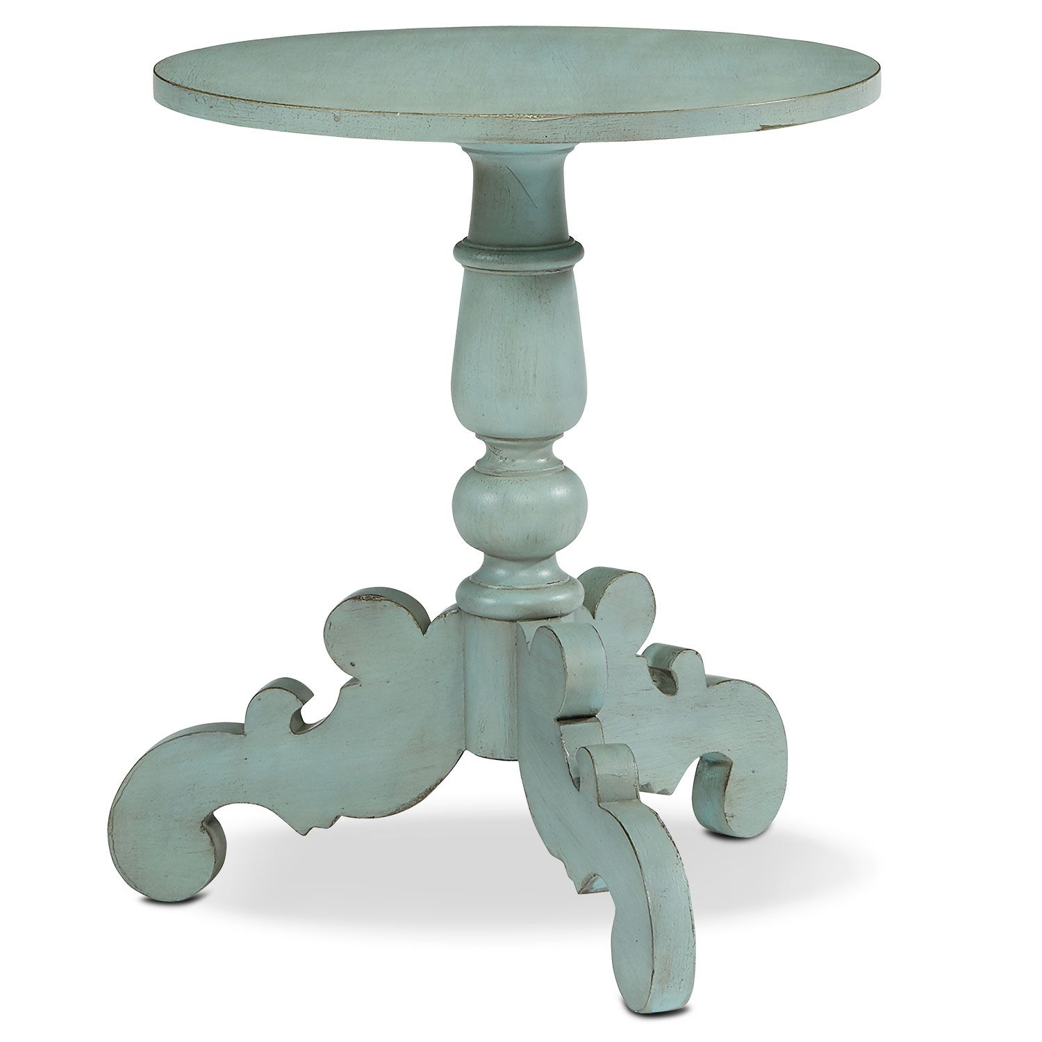 Accent and Occasional Furniture French Inspired Tripod Hall Table