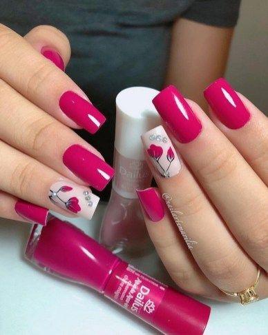 24 flower girl vintage pink holographic nail polish 2019