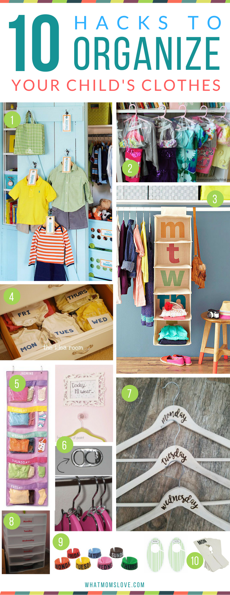 How to organize your kids closet, clothes and outfits | Hacks, Tips and Tricks for Organized, Stress-Free Mornings with kids