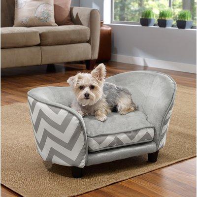 Great Archie U0026 Oscar Corinne Snuggle Dog Sofa Color: Gray