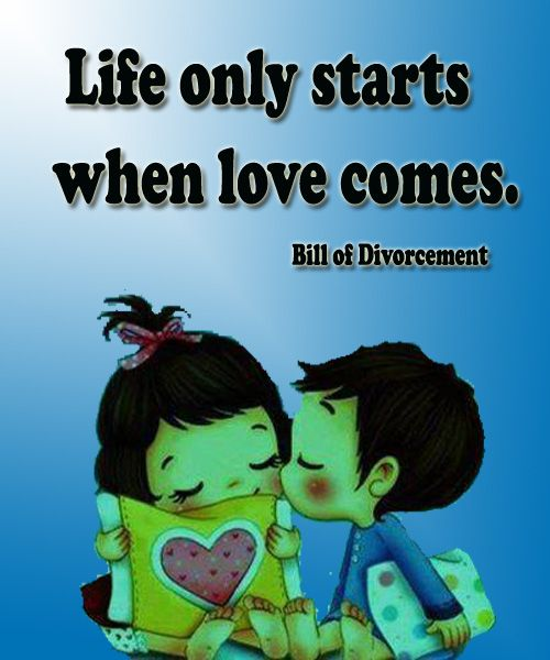 Famous Quotes About Love Life Only Starts When Love Comes  Kata Kata  Pinterest  Feminism