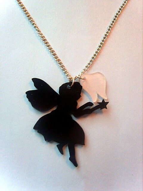 66c4d713c4a5 Tooth Fairy necklace