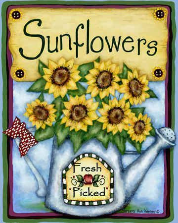 sunflowers Barbara Ann Kenney