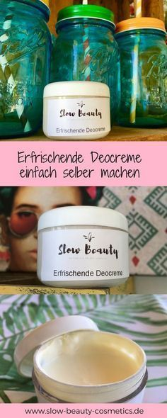 DIY Kosmetik Rezept: Erfrischende Deocreme selber machen