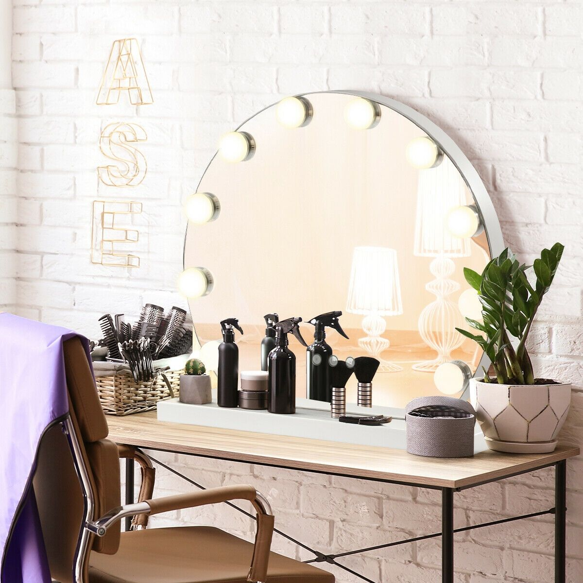 Hollywood Style Makeup Vanity Mirror with Light | Makeup ...