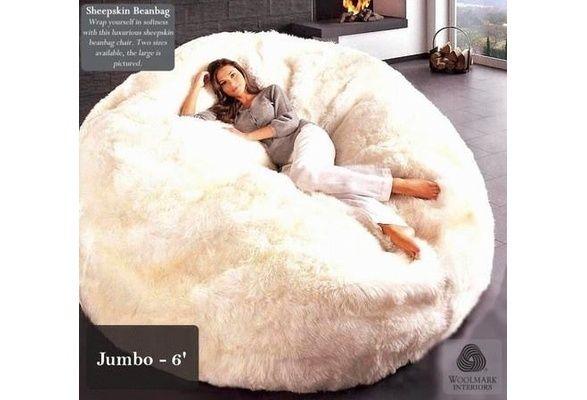Superieur Big Fluffy Bean Bag   Google Search