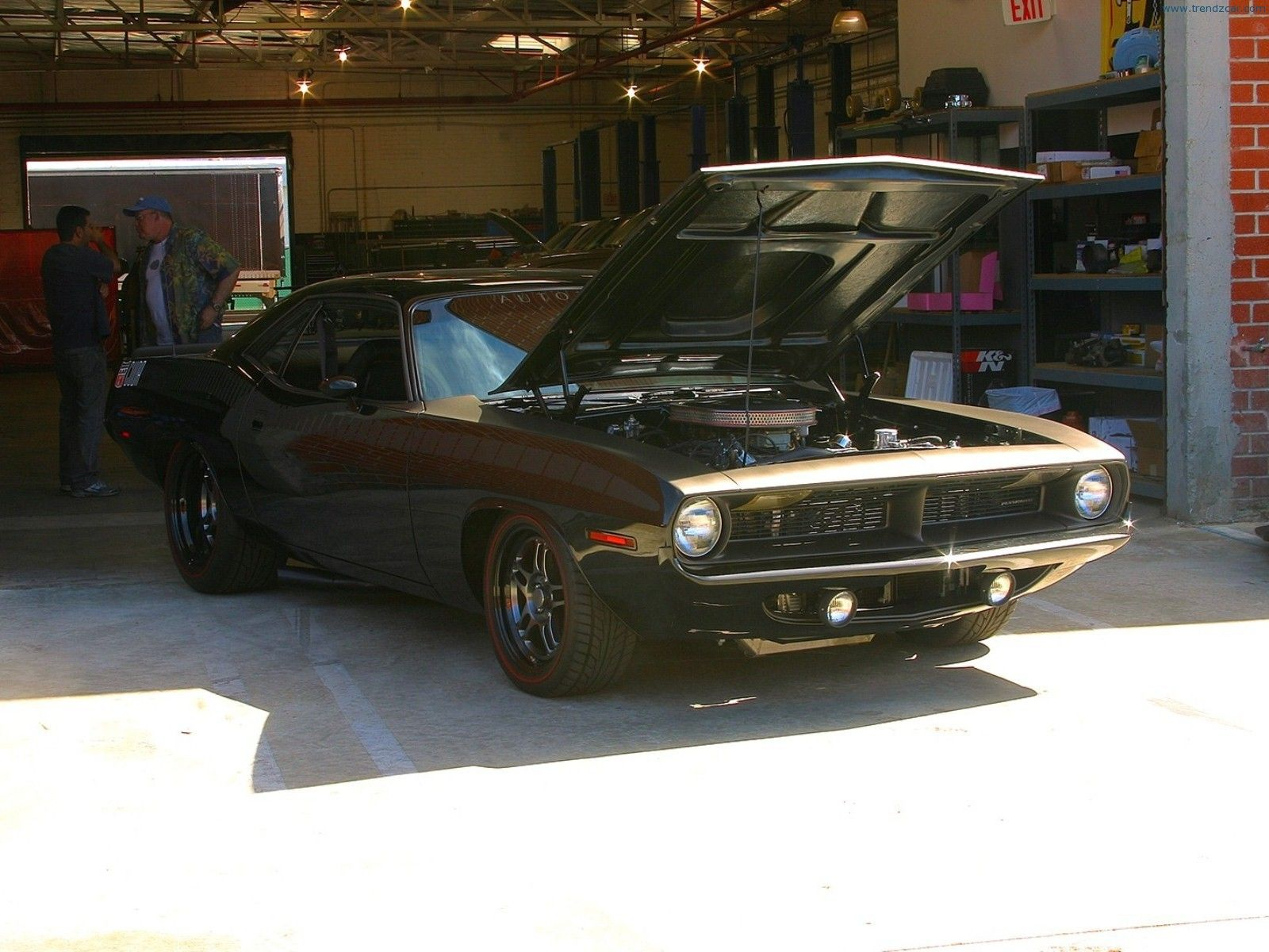 1970 Plymouth Cuda Front Angle  Fast  Furious 6 Car  Fast