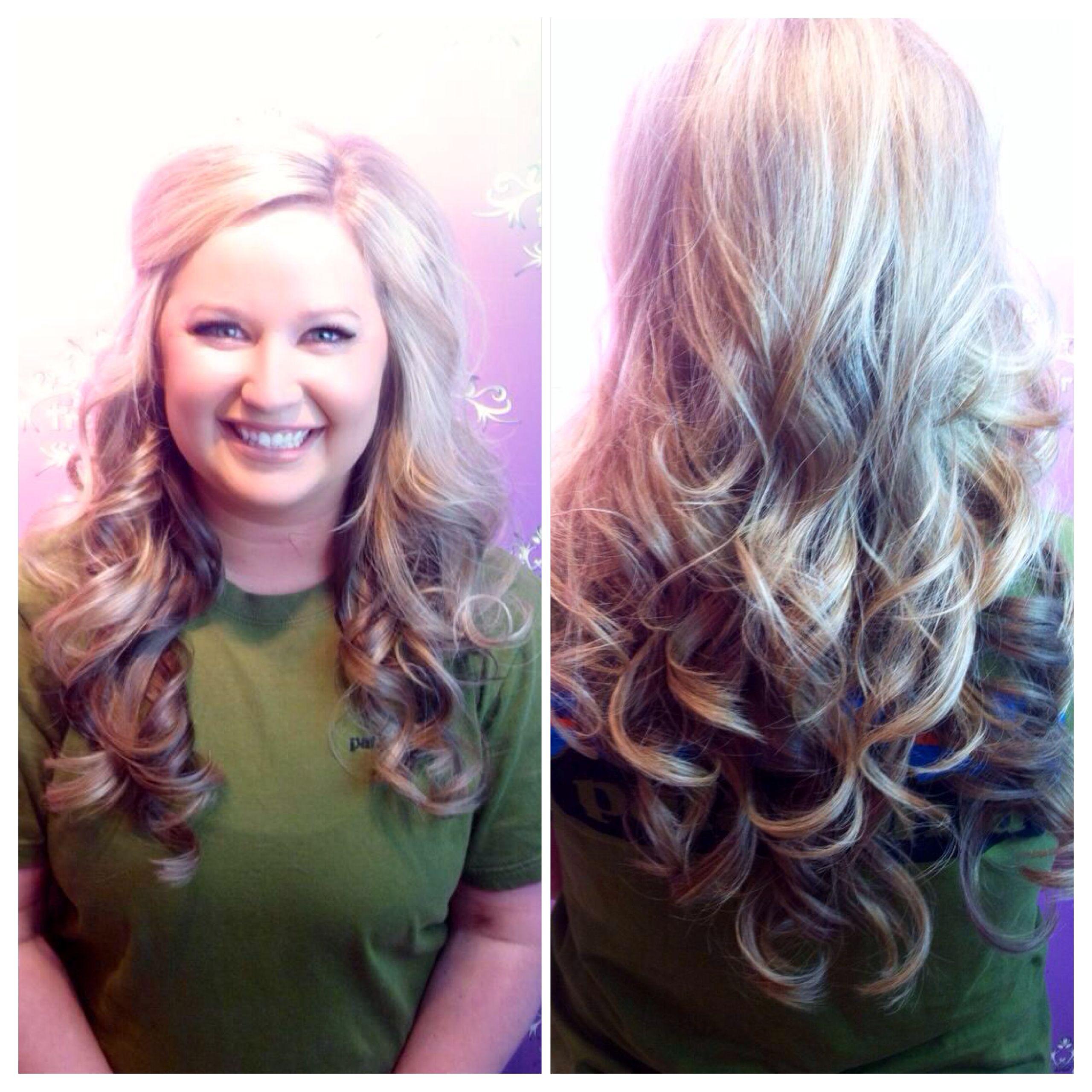 wedding hair and makeup by stylist, kenzie ferguson