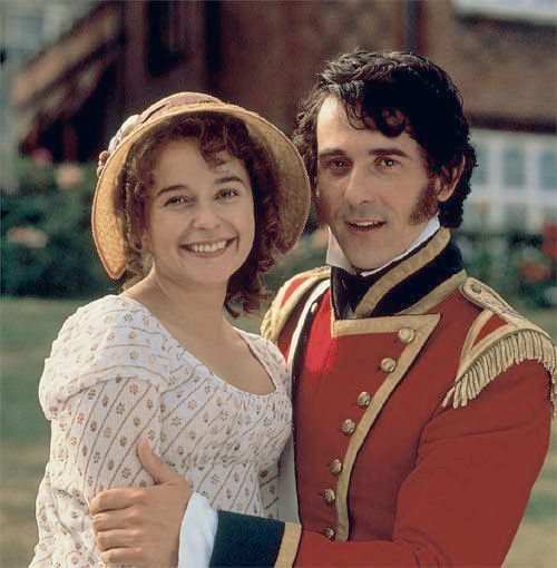 Pride And Prejudice 1995 Starring Julia Sawalha As Lydia Bennet And Adrian Lukis As Mr Wickham Pride And Prejudice Jane Austen Jane Austen Movies