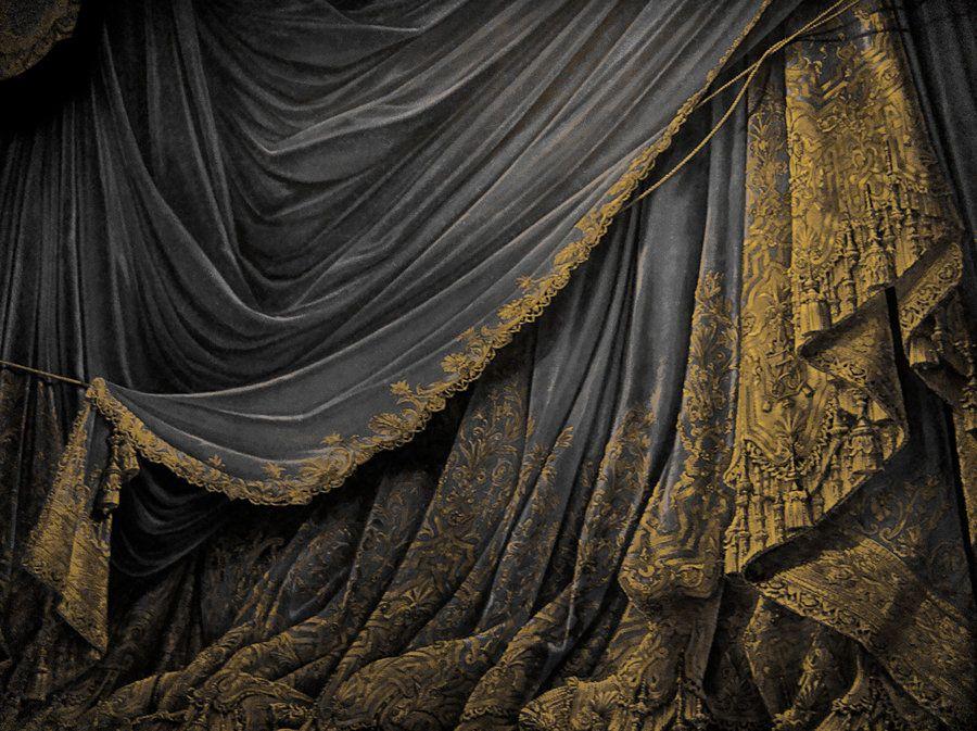 Wonderful Backdrop Vintage Theater Stage Curtain   Black By EveyD.deviantart.com On  @deviantART